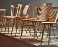 wooden chair design ideas,furniture trends 2019,imm cologne design post,design trends,dining room chair design,