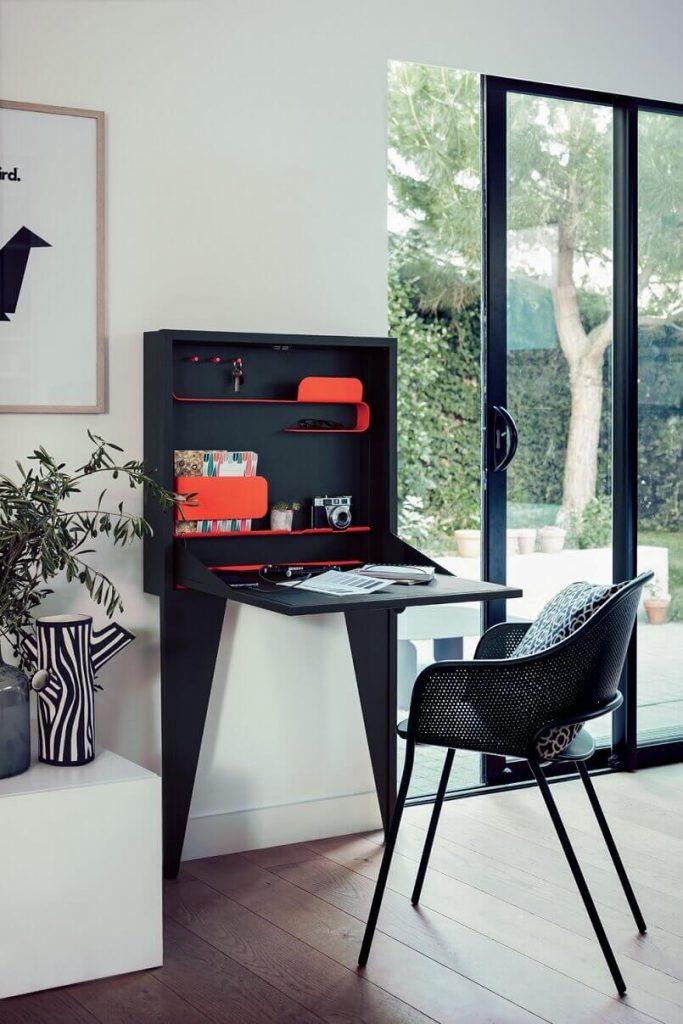 Small Home Office Idea Face A Writing Desk Archi Living Com