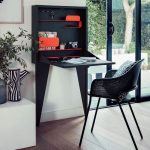 writing desk for small bedroom,working from home small space,writing desk for small spaces,home office small apartment,home office small space ideas,