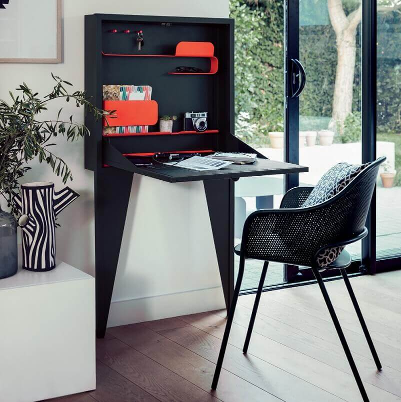 Face A Face Writing Desk Home Office For Small Spaces Archi Living Com